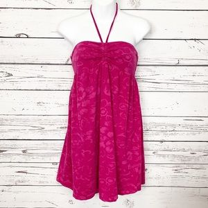 AEROPOSTALE | pink ish beach coverup - dress
